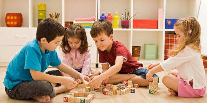 بازیدرمانی گروهی کودکان