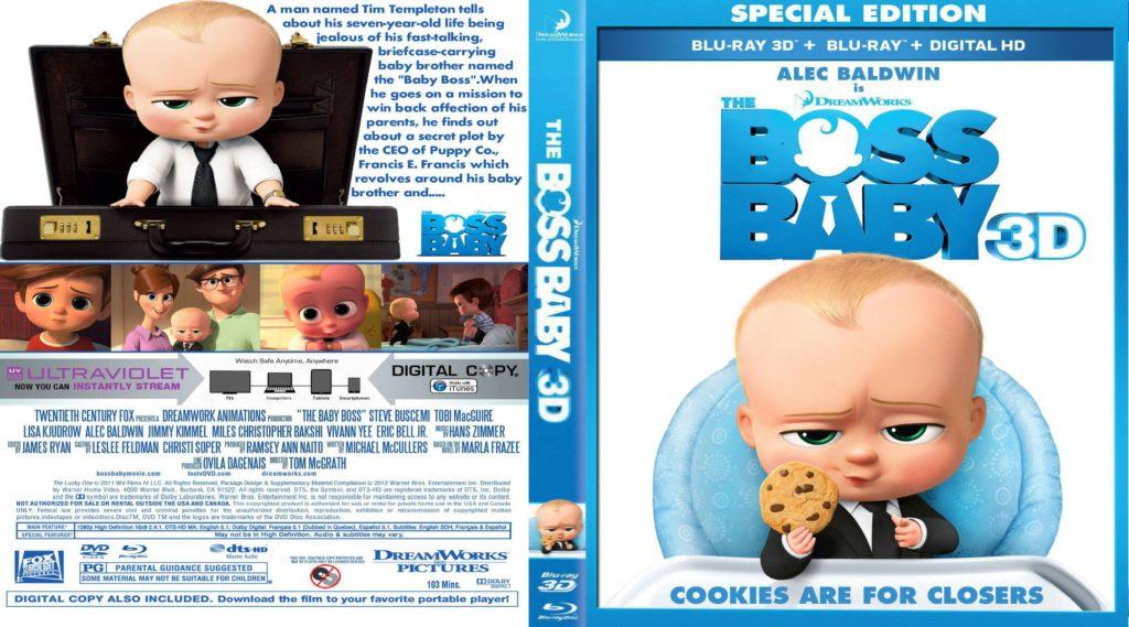 کاور انیمیشن بچه رئیس (The Boss Baby cover)
